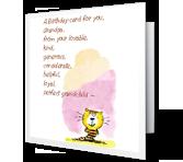 For Grandpa Birthday Printable Cards