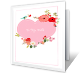 From My Heart Birthday Printable Cards