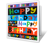 Perfect Birthday Birthday Printable Cards