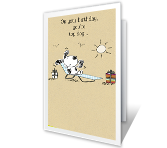 Relax and Enjoy Birthday Printable Cards