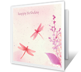 Special Wish Birthday Printable Cards