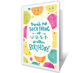 Special You Birthday Printable Cards