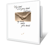 Touched By Your Love Birthday Printable Cards