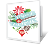 Decorate the Season Christmas Printable Cards
