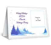 From Our Family Add-a-Photo Christmas Printable Cards