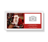 From Our Family to Yours 4 x 8 Photo Card Christmas Printable Cards