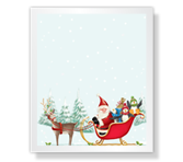 From the North Pole Christmas Printable Cards