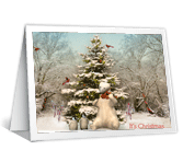 Magical Christmas Christmas Printable Cards