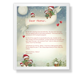North Pole Greetings Christmas Printable Cards