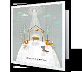 Peace on Earth Christmas Printable Cards