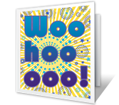Woo Hoo! Congratulations Printable Cards