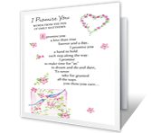 I Promise You Dating & Love Printable Cards