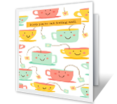 Take It Easy Get Well Printable Cards