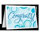 Congrats, Graduate Graduation Printable Cards
