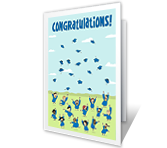 Smart Grad Graduation Printable Cards