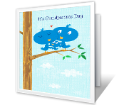 Big Hug for You Grandparents Day Printable Cards