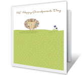 Happy Grandparents Day Grandparents Day Printable Cards
