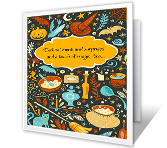 Halloween Enchantment Halloween Printable Cards