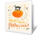 Halloween Spirit Halloween Printable Cards