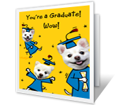 To the Graduate Holidays Printable Cards