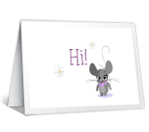 Cute Mouse Mother's Day Printable Cards