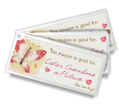 For Grandma Coupons Mother's Day Printable Cards