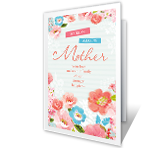 My Amazing Mother Mother's Day Printable Cards