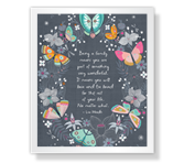 Being a Family Quote Mother's Day Poems & Quotes Printable Cards