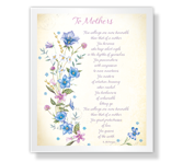 To Mothers Poem Mother's Day Poems Printable Cards