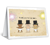 New Beginnings New Year's Day Printable Cards