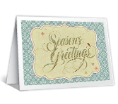 Warm Wishes for the Season Season's Greetings Printable Cards