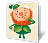 Wee Bit of Green St. Patrick's Day Printable Cards