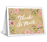 Thanks So Much Thank You Printable Cards