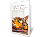 From Across the Miles Thanksgiving Printable Cards