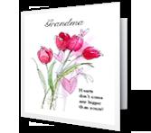 Loving Grandma Valentine's Day Printable Cards