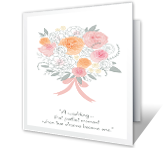 Wedding Announcement Wedding Printable Cards