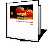 Pumpkin-carving Time greeting card