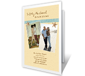 Sharing Life With You Add-a-Photo greeting card