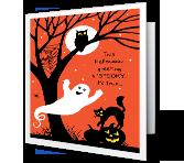 Spooky Greetings greeting card