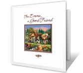 Through the Years greeting card