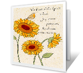 To Someone Special at Thanksgiving greeting card