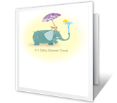 Totally Lovable Baby greeting card