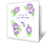 Your Easter Blessings greeting card