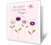 You're Great to Work With greeting card