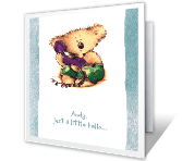 You're on My Mind! greeting card