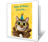 You're One Cool Cat greeting card