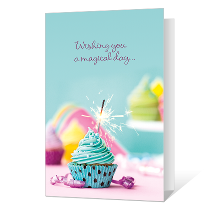 Sparkling Wishes Birthday Cards