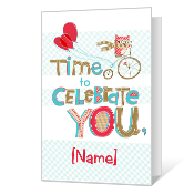 Celebration Time Birthday Cards