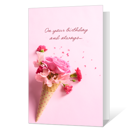 Happiness Blooms Birthday Cards