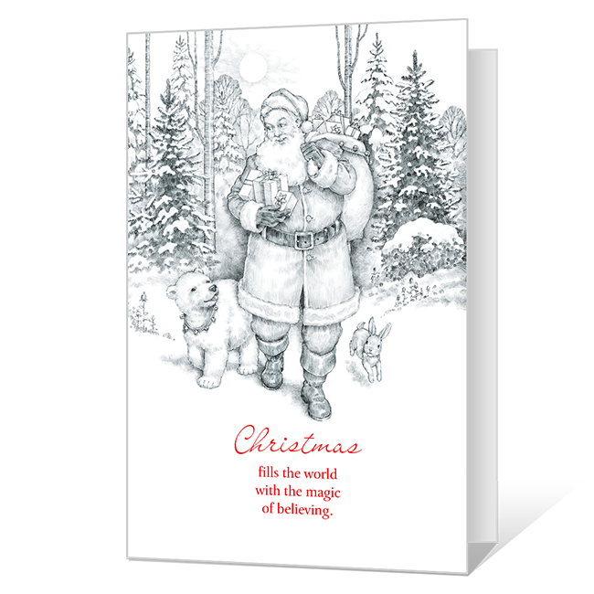 Magic of Believing Printable Christmas Cards